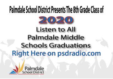Listen to Palmdale School District's 8th Grade Class of 2020 Graduation